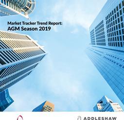 AGM season 2019 – Market Tracker Trend Report