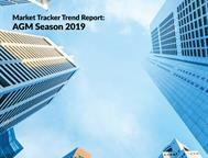 AGM season 2019 – Market Tracker Trend Report