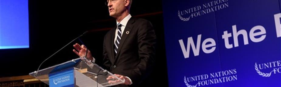 LexisNexis honored with UN Foundation Global Leadership Award