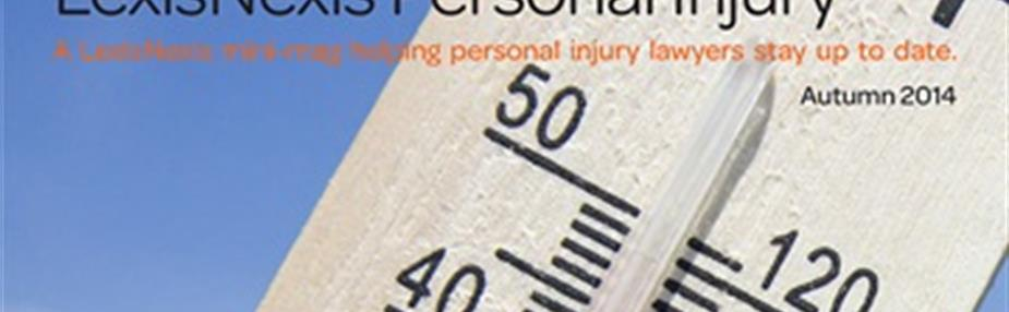 Free personal injury magazine: Autumn 2014