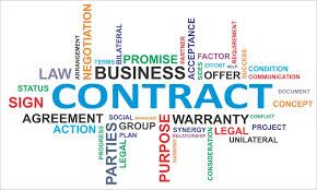 Checklists for commercial contracts