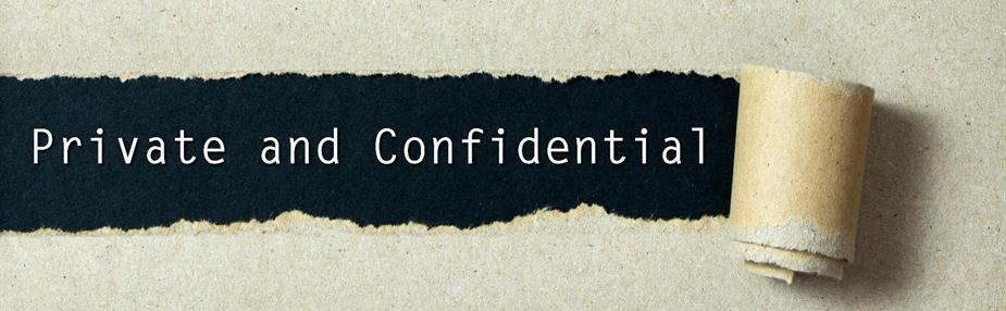 Upcoming webinar: Confidentiality and disclosure - 15 May 2018