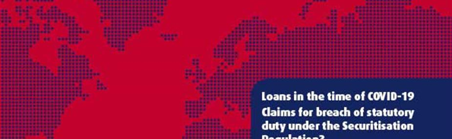 Claims for breach of statutory duty under the Securitisation Regulation?