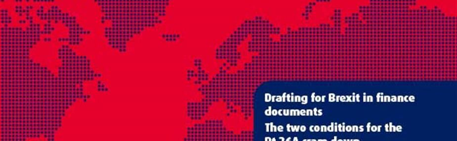 Drafting for Brexit in finance documents