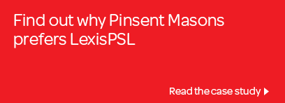 Find out why Pinsent Masons prefer LexisNexis