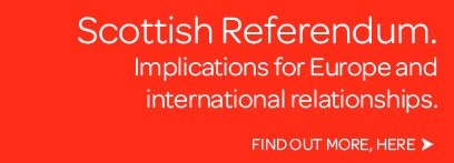 Scottish Referendum - Implications for Europe and International Relationships