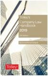 Tolley's Company Law Handbook 27th edition cover