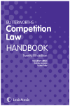 Butterworths Competition Law Handbook 25th edition cover