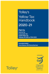 Tolley's Yellow Tax Handbook 2020-21 cover