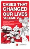 Cases That Changed Our Lives Second Volume cover