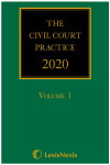 The Civil Court Practice 2020 (The Green Book) (Hardcopy, CD & eBook) cover