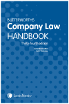 Butterworths Company Law Handbook 34th edition cover