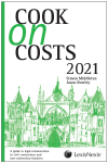 Cook on Costs 2021 cover