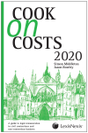 Cook on Costs 2020 cover