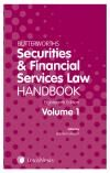 Butterworths Securities and Financial Services Law Handbook 18ed (Print and eBook) cover