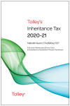 Tolley's Inheritance Tax 2020-21 cover