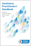 Insolvency Practitioners Handbook Eighth edition cover