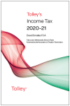 Tolley's Income Tax 2020-21 Main Annual cover