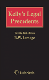 Kelly's Legal Precedents Second Supplement to 21st edition cover