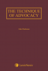 Munkman: The Technique of Advocacy cover