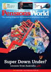 Pensions World Magazine cover