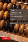 Tolley's Accounting for Tax Professionals Second edition cover