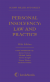 Schaw Miller and Bailey: Personal Insolvency - Law and Practice Fifth edition cover