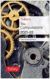 Tolley's Tax Computations 2021-22 cover