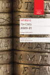 Whillans Tax Data 2020-21 (Budget edition) cover