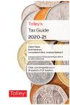 Tolley's Tax Guide 2020-21 cover