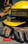Tolley's Health and Safety at Work Handbook 2021 33rd edition cover