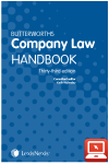 TolleyLibrary Light Butterworths Company Law Handbook 33ed and Print cover