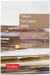 Tolley's Tax Cases 2020 cover