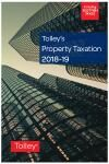 Tolley's Property Taxation 2018-19 cover