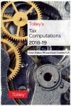 Tolley's Tax Computations 2018-19 cover