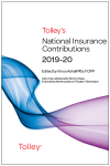 Tolley's National Insurance Contributions 2019-20 Main Annual cover
