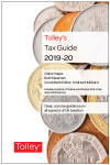 Tolley's Tax Guide 2019-20 cover