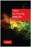 Tolley's Tax Planning 2019-20 cover
