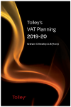 Tolley's VAT Planning 2019-20 (Part of the Tolley's Tax Planning Series) cover