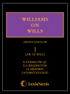 Williams on Wills 10th edition Set eBook cover