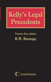 Kelly's Legal Precedents 21st Edition (with CD-ROM) cover