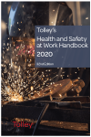 Tolley's Health and Safety at Work Handbook 2020 32nd edition cover