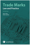 Trade Marks: Law and Practice Fifth edition cover