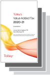 Tolley's Value Added Tax 2020 Set cover