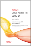 Tolley's Value Added Tax 2020-21 (Second edition only) cover