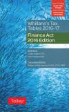 Whillans's Tax Tables 2016-17 (Finance Act edition) cover