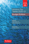 Whillans Tax Tables 2020-21 (Budget edition) cover