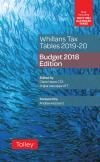 Whillans Tax Tables 2019-20 (Budget edition) cover