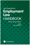 Butterworths Employment Law Handbook 27th edition cover