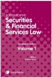 Butterworths Securities and Financial Services Law Handbook nineteenth edition cover
